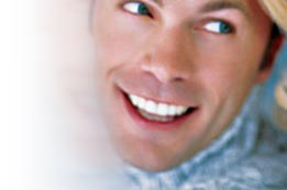 Perfect smile with dental implant